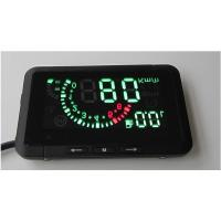 Wholesale LED Car HUD Head Up Display With OBD2 Interface Plug & Play Speeding Warn System W01 from china suppliers
