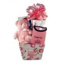 Wholesale Baby Gift Baskets Personalized Baby Girl Gift Canvas Basket from china suppliers