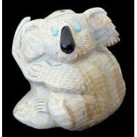 Wholesale Picasso Marble Zuni Koala Fetish from china suppliers