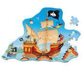 Wholesale TOY: SPIRGELBURG CAPTN SHARKY FLOOR PUZZLE from china suppliers