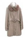 Quality JFY-032 sheep leather coat for sale