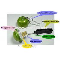 Buy cheap Apple Shape Metal Mini Universal Charger+TF Card Reader from wholesalers