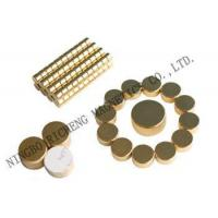 Buy cheap neodymium magnet with gold coating from wholesalers