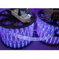 RGB Color Changing Led Rope Light Flex 220V AC For Windows And Roofs for sale