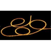 Easy Installation Round Yellow Led Neon Rope Light 24V For Vehicles Color Led Lights for sale