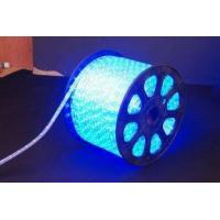 Super Bright 220V AC RGB Color Changing Led Neon Rope Light 2.5W / Meter For Walkways for sale