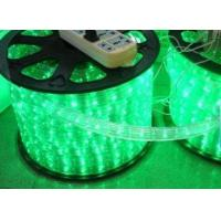 110VAC/220VAC And 2.5W/meter Power Flexible Green Led Neon Rope Light For Business Signs for sale