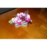 Buy cheap hot pink corsage from wholesalers