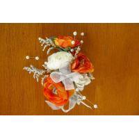Buy cheap Orange and White Corsage from wholesalers