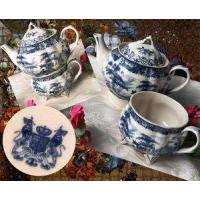 "Wholesale IWDSC 01-58038 7.5"" Blue Porcelain Tea for One from china suppliers"