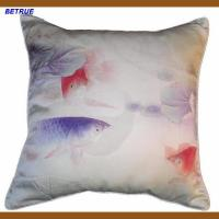 China digital printing silk cushion cover on sale