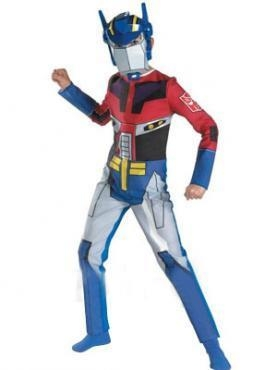 Quality Transformers Optimus Prime Lycra Super Hero Costume for sale
