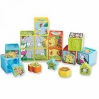 Wholesale Shape Sorting Puzzle Blocks from china suppliers