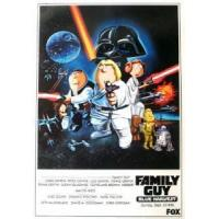 China FAMILY GUY (STAR WARS SPECIAL) ORIGINAL TV POSTER on sale