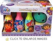 Wholesale Dora The Explorer Toy Bowling Set from china suppliers