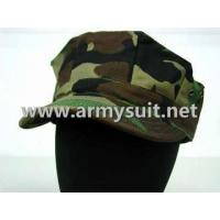 Buy cheap MCCUU Woodland Camo Octagonal Cap from wholesalers