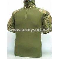 Wholesale MILITARY CLOTHING US Army Tactical Combat T-Shirt Multi Camo Multicam from china suppliers