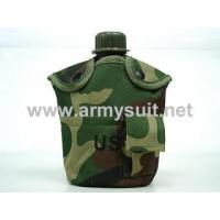 Buy cheap 1Qt Canteen Water Bottle wPouch & Cup Camo Woodland from wholesalers