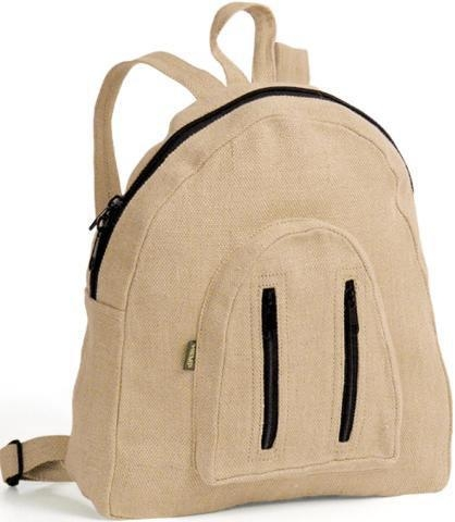 "Quality Organic Hemp Mini Backpack 6"" x 11.5"" x 12"" for sale"
