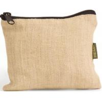 Wholesale Organic Hemp Zippered Pouch from china suppliers