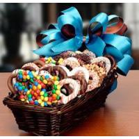Buy cheap Chocolate Gift Basket Assorted Chocolate Dipped Pretzels from wholesalers