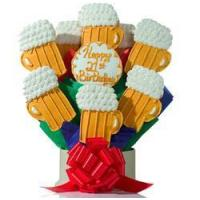 Buy cheap Cookie Bouquets Fathers Day Beer Cookie Bouquet from wholesalers