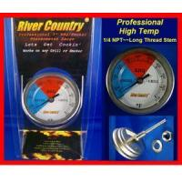 Wholesale 3 River Country Adjustable BBQ/Smoker Thermometer (RC-T3) 1/4 thread from china suppliers