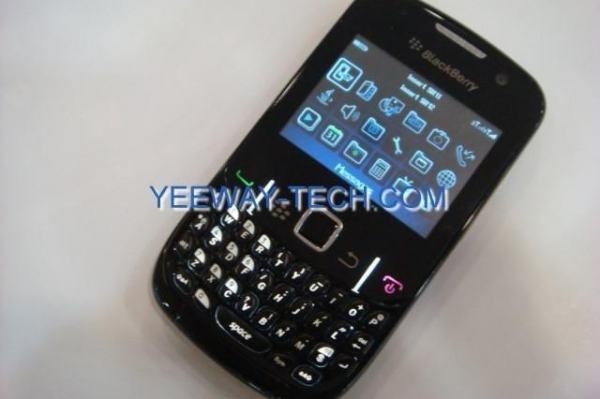 Quality COPY Blackberry 8520 TV mobile phone quad band dual sim cards ...