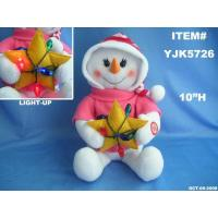 Wholesale SINGING SNOW WOMAN HOLDING STAR from china suppliers