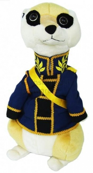 China Soft Toy Soldier Meerkat 50cm