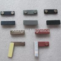 China Plastic Name Badge Magnet Magnetism clamp on sale