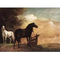 Wholesale Oil Painting horses_f from china suppliers