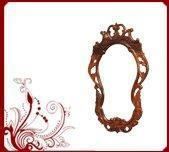 Wholesale Sandalwood Lakshmi Idol Home Rosewood Carved Mirror from china suppliers