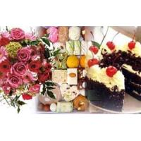 Wholesale COMBO 5 - Flowers, 2 kg Mithai and 2 LBS Cake from china suppliers