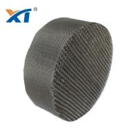 China Metal Wire Gauze Structured Packing Metal Raschig Ring Wholesale on sale