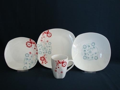 China 16pcs dinnerware porcelain dinnerware