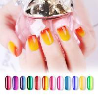 China 84colors summer hot sell mood thermo temperature color changing nail polish gel OEM bulk on sale