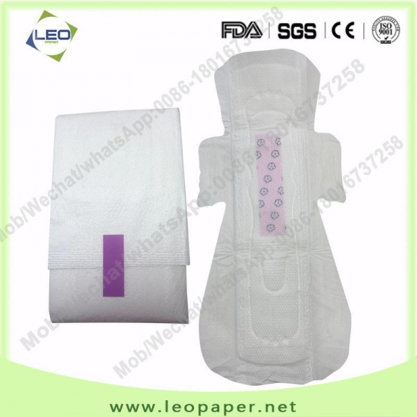 China 320mm premium quality Anion Sanitary Napkins facotry