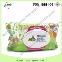 Wholesale China Supplier Unscented soft Cleansing Baby Wet Wipes from china suppliers