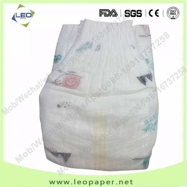 China Extra-thin Breathable Pampers Baby Diaper Manufacturer