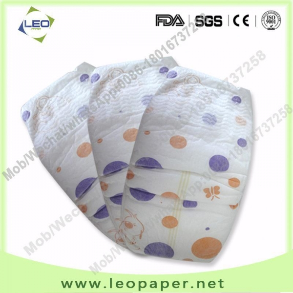 China Extra soft OEM high absorbency disposable baby nappy