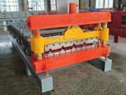 China Metal Roof Sheet Roll Forming Making Machine Made In China