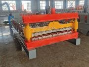 Wholesale China Galvanized Color Steel Roof Sheet Roll Forming Machine from china suppliers