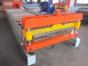 China C8 C21 Russia Type Roof And Wall Panel Sheet Roll Forming Machine
