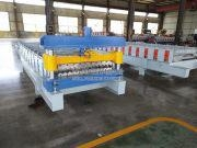 China Aluminum/Galvanized Colored Steel Metal Corrugated Roof Sheet roll forming machine