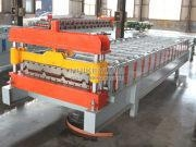 China IBR Trapezoidal Roofing Sheet Roll Forming Machine China Manufacturer