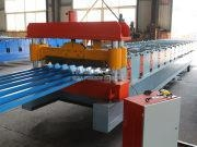 Buy cheap HKY 35-125-750 Trapezoidal Roof Sheet Roll Forming Machine from wholesalers
