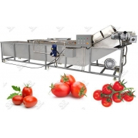 Wholesale Industrial Tomato Washing Machine Hot Sale from china suppliers
