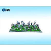 Buy cheap Customize action football player figures from wholesalers