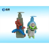 Buy cheap kids-bath&shampoo-plastic-bottle-with-figure from wholesalers